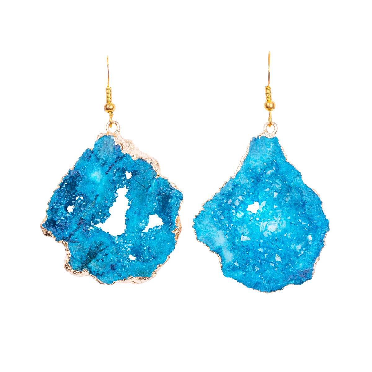 Blue Icmeler Earrings
