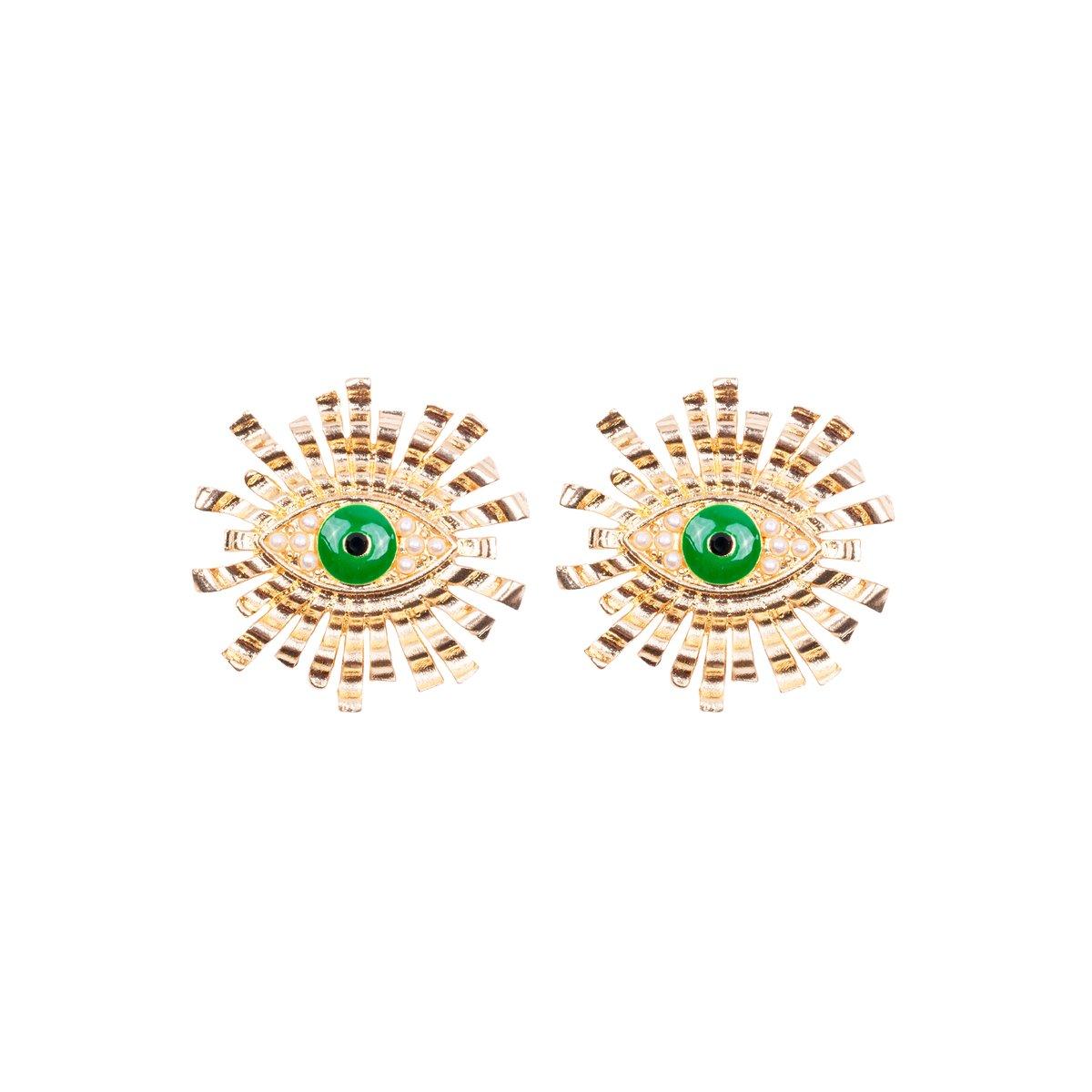 Lina Eye Earrings