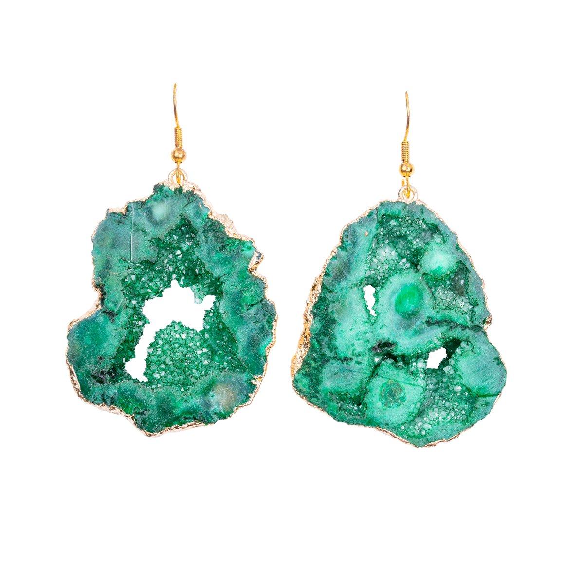 Green Icmeler Earrings