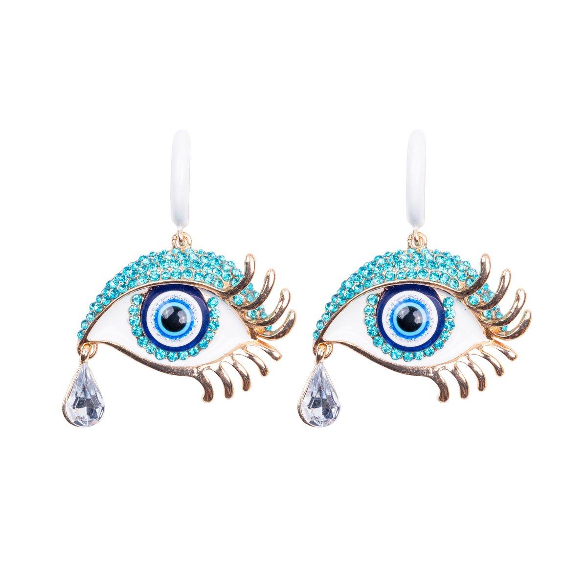 Mediterranean Eyes Earrings