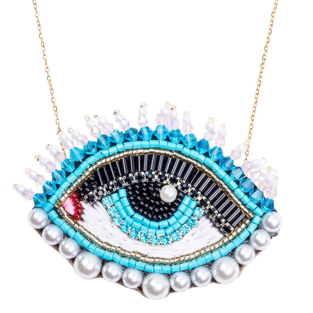 Frida Eye Necklace