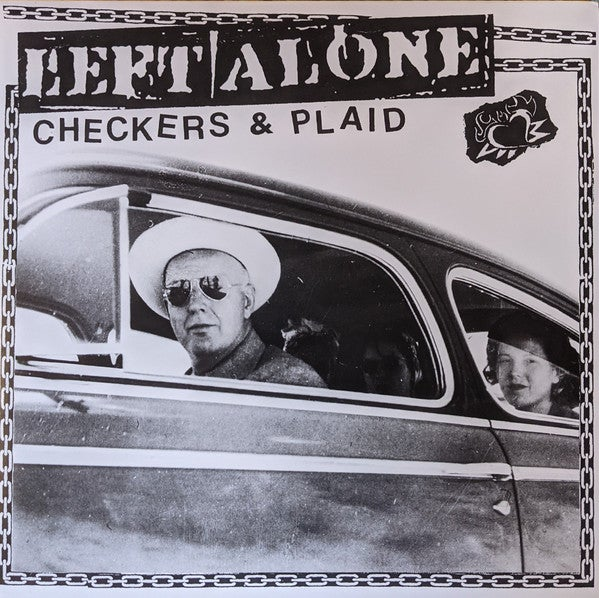 Image of *NEW* Left Alone - Checkers & Plaid LP