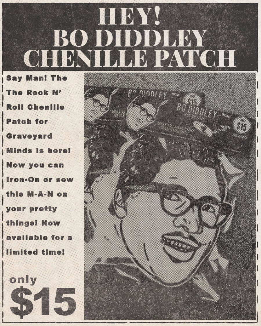 Image of Hey! Bo Diddley Patch