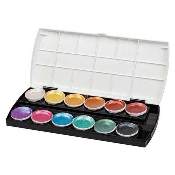 Image of Pearlescent Watercolour Paints