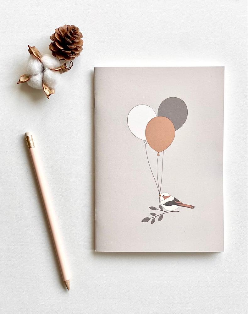 Image of Carnet - l'oiseau aux ballons