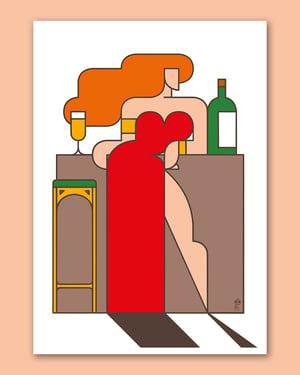 Femme au Bar !
