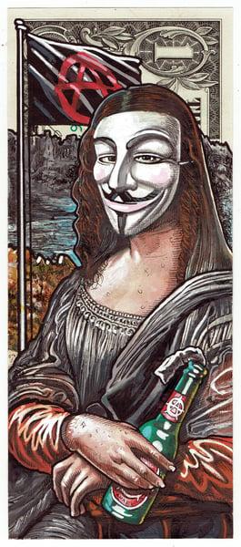 Image of Real Dollar Original. Mona Antifa.