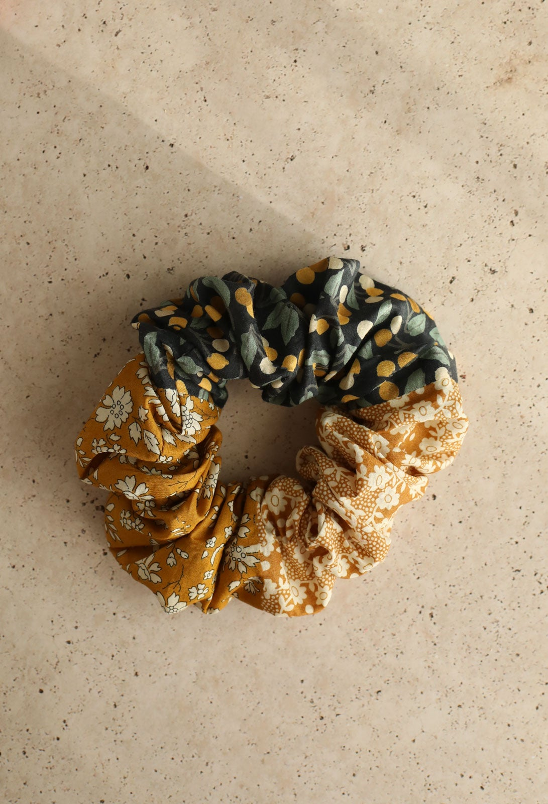 Image of Patchwork scrunchie * Budapest