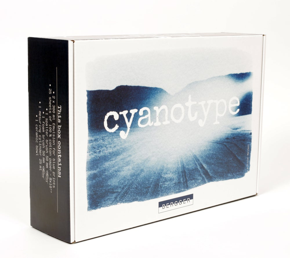 Image of BERGGER Cyanotype Kit/ Emulsion