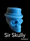 Sir Skully ~ 3D Skull Scented Wax Melts ~ Ready To Ship!