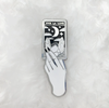 Moon Card B+W Enamel Pin
