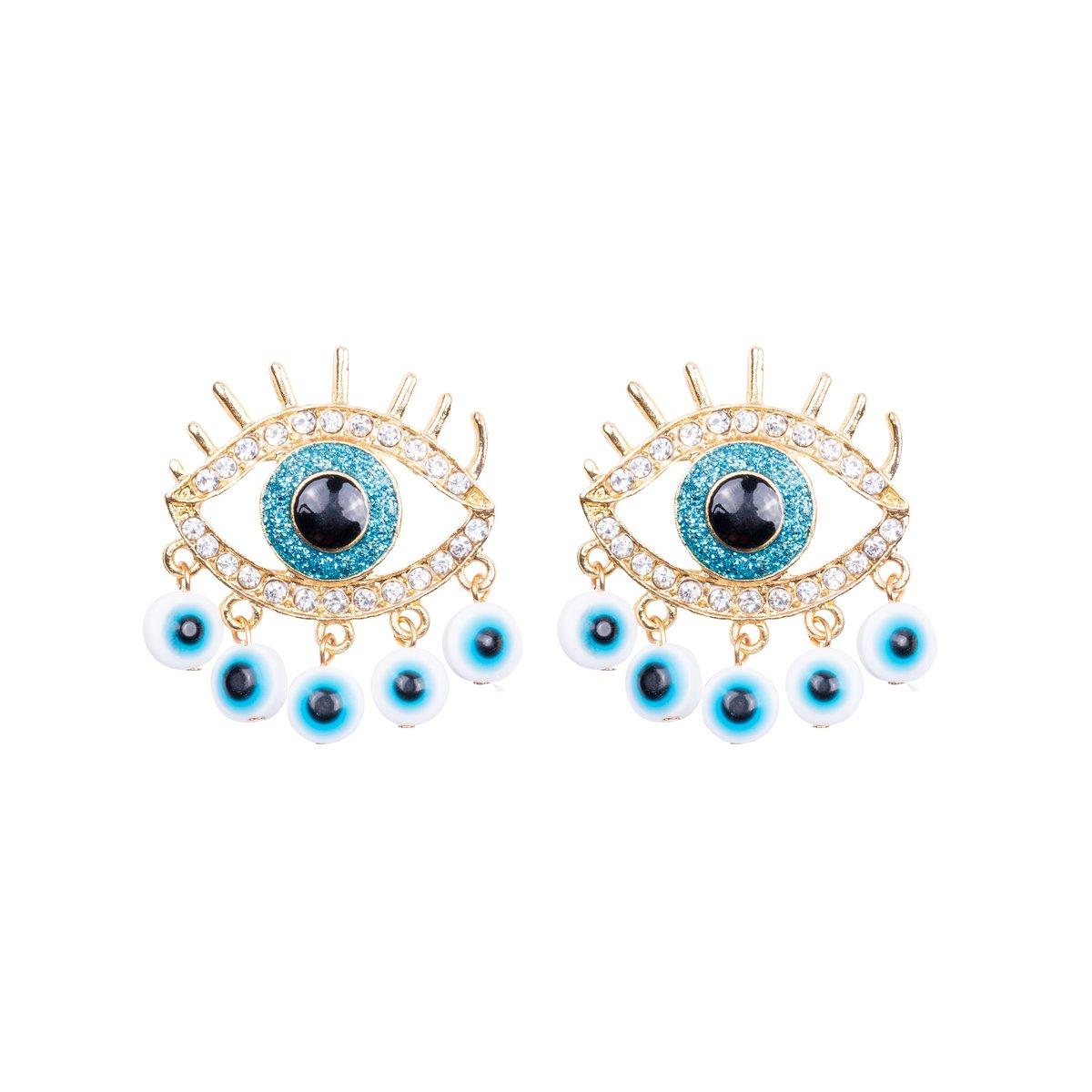 Elif Eye Earrings