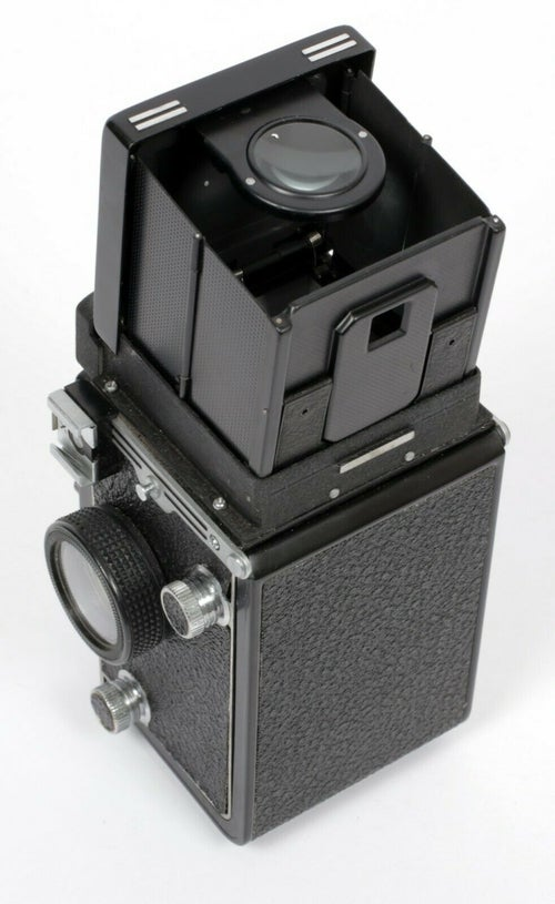 Image of NEW OLD STOCK Seagull 4A-103 6X6 TLR Camera with 75mm F3.5 lens *6 Mo. Warranty*