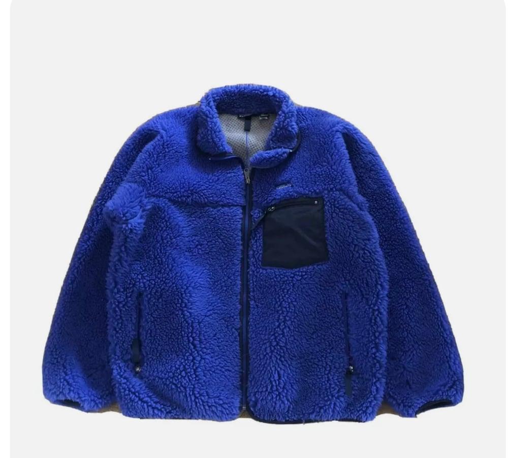 Image of Vintage Patagonia Retro X Cobalt & Black Jacket L
