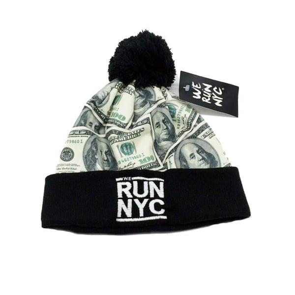 Image of WE RUN NYC Money Beanie
