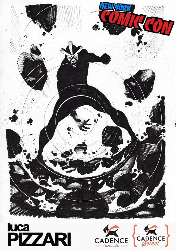 Image of Luca Pizzari : NYCC COMMISSIONS (MAIL ORDER/PICKUP) OPENS THURSDAY 9/30 AT 2PM EST