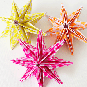 Image of Christmas: Make Your Own 3D Star - Online - 22nd November ( 7 - 8.30pm)