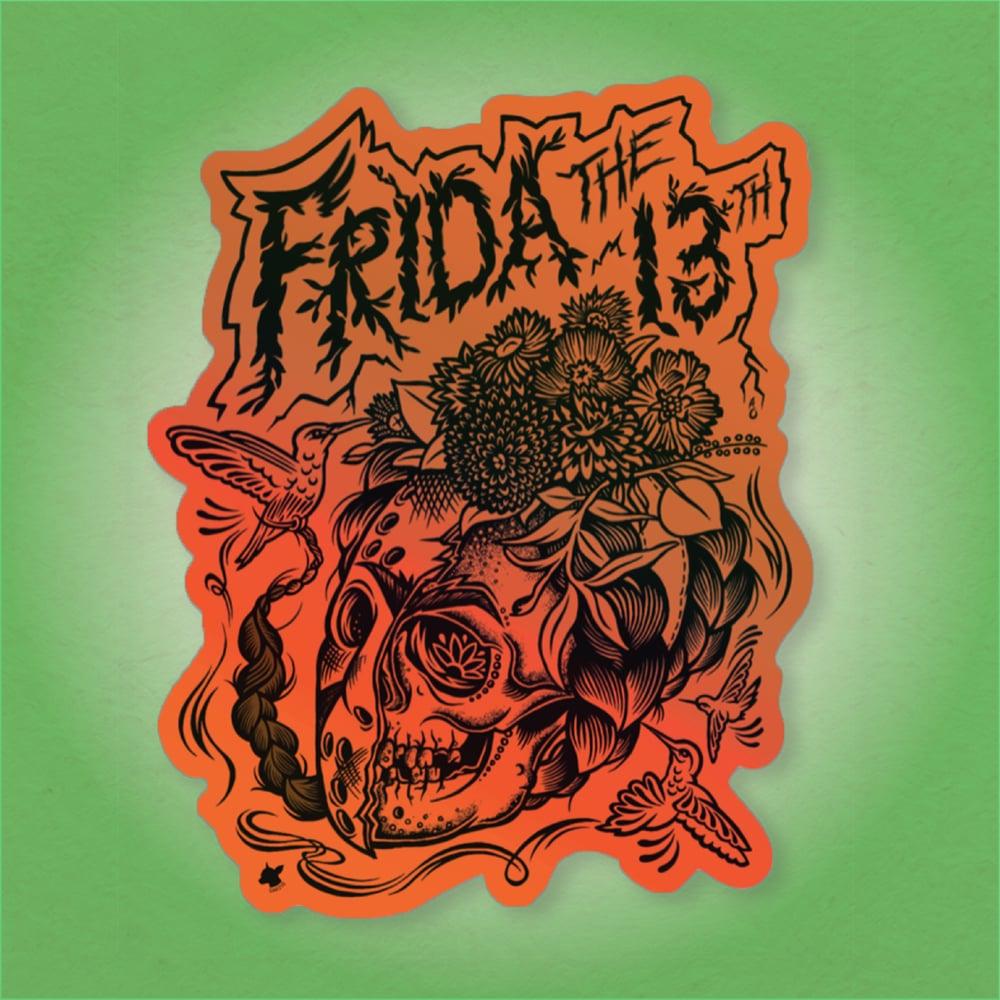 Frida the 13th Sticker