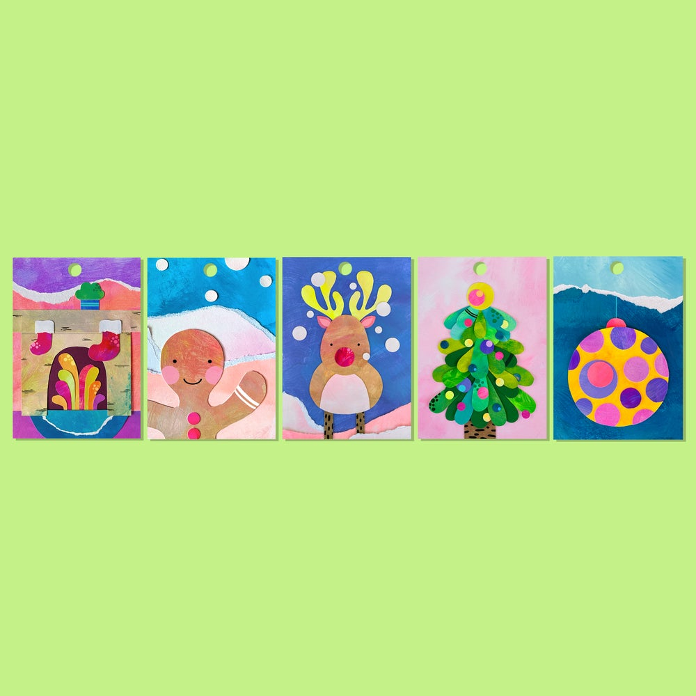 Image of CHRISTMAS TAGS | 10 pack
