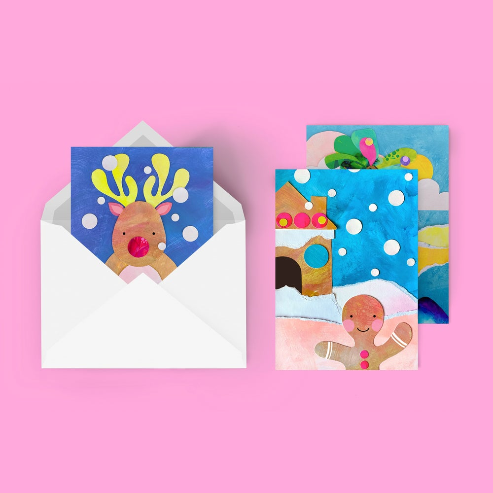 Image of CHRISTMAS CARDS   10 pack