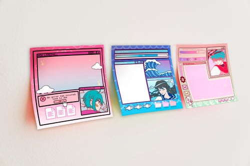 Image of [Preorder] Relatable Future Funk Sticky Note Pads