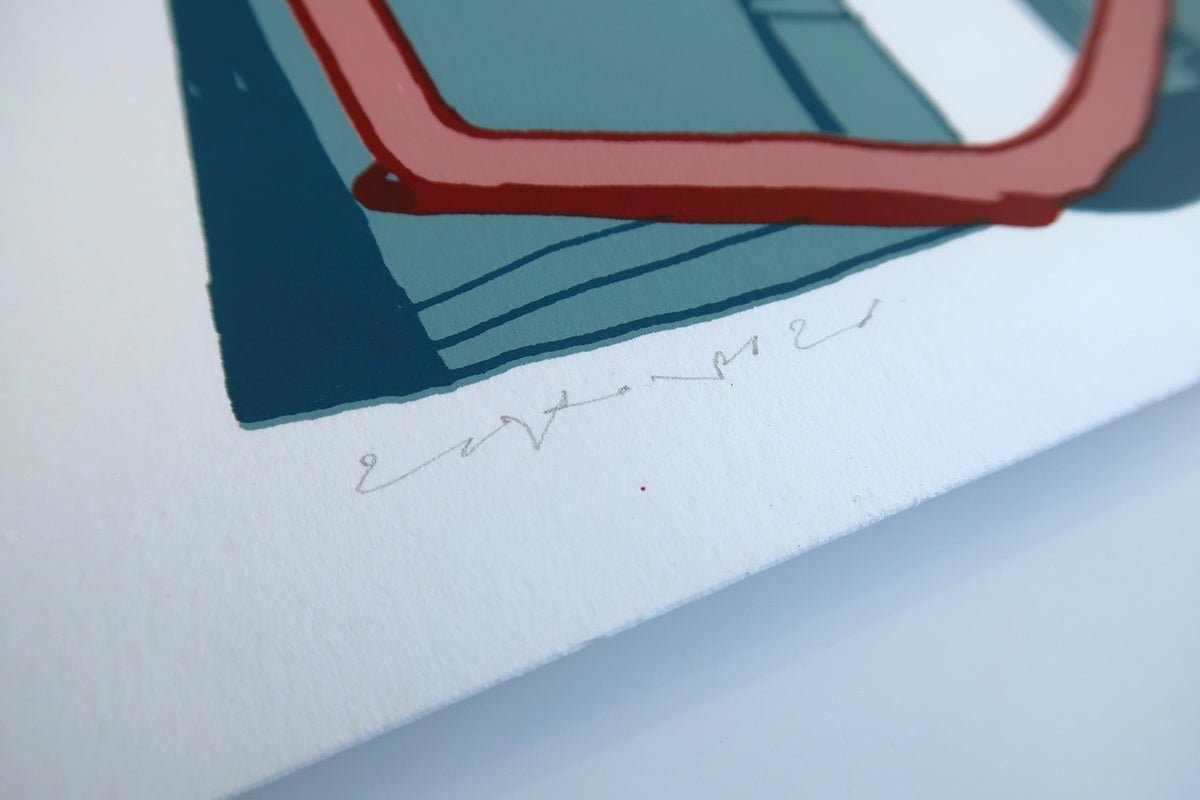 """Image of """"#201"""" Collaborative screen print with Joost Stokhof"""