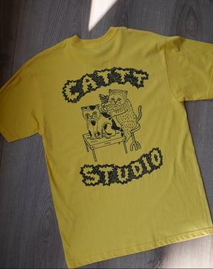 CATTT STUDIO - yellow - T-shirt