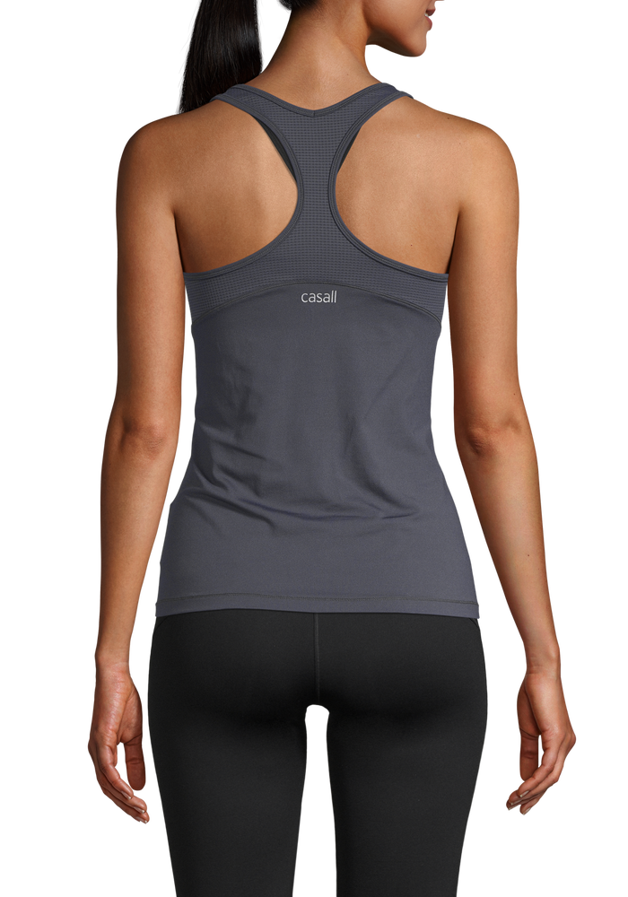 Image of Essential Racerback with Mesh Insert Boosting Blue