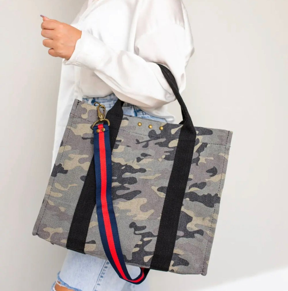 Image of Canvas Crossbody Tote