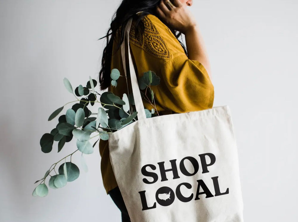 Image of Shop Local Tote Bag
