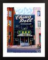 China Doll Restaurant, Washington DC Giclée Art Print (Multi-size options)