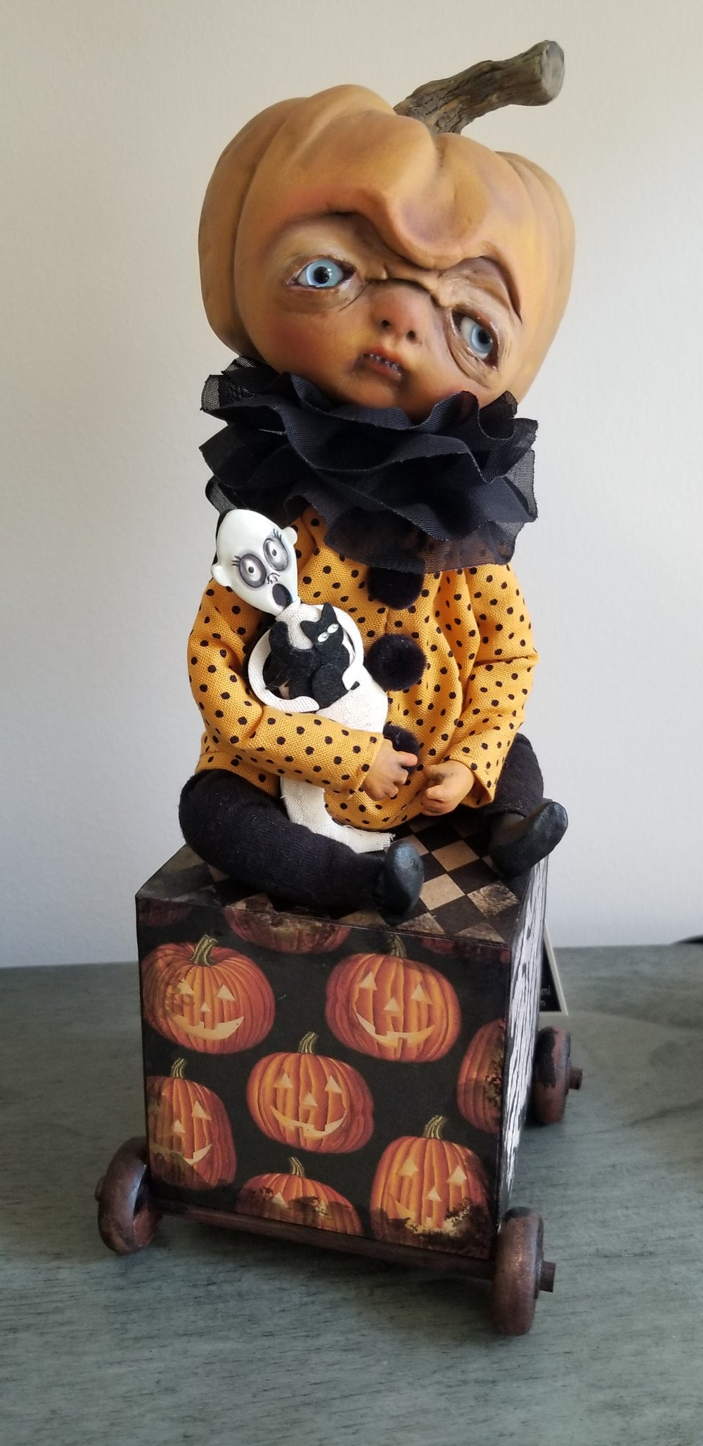 Image of Pumpkin with Gosth