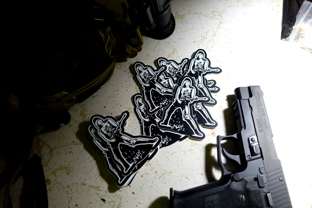 Image of Commando Stickers