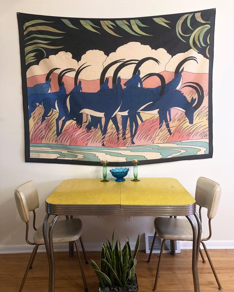 Image of Bluckbuck Tapestry - PRE ORDER