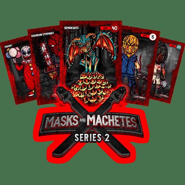 Image of Masks & Machetes - Card Series #2