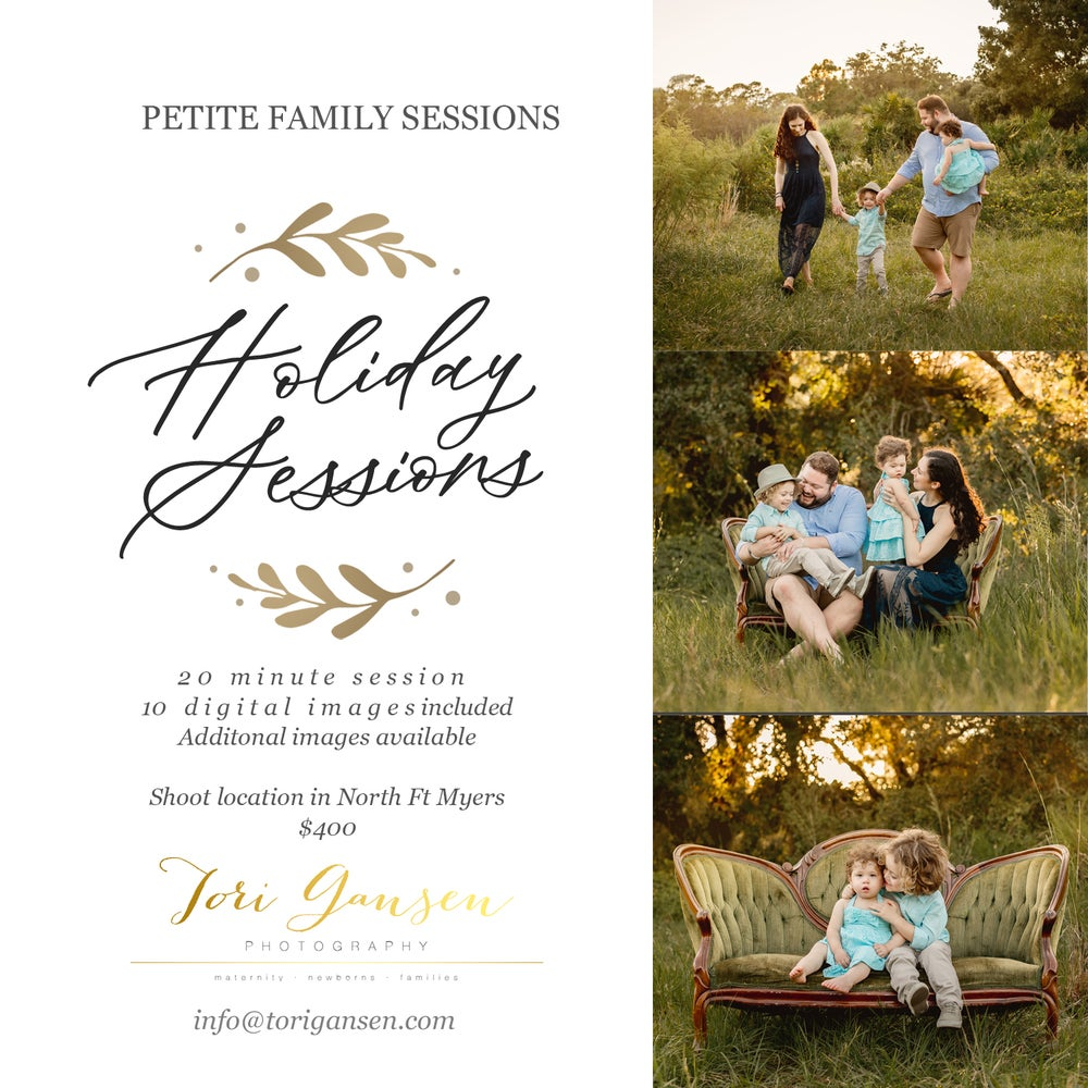Image of 2021 Family Petite Sessions