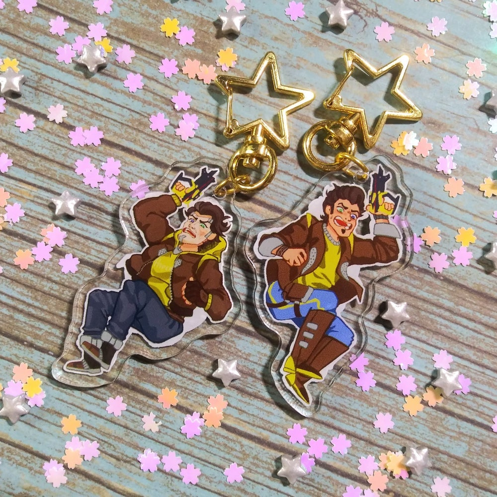 Timothy Lawrence Double-Sided Acrylic Charm!