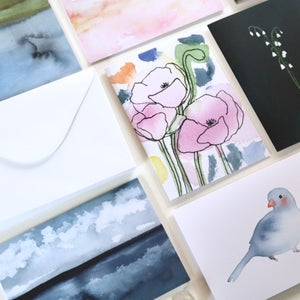 Image of Set of 12 Notecards with Envelopes