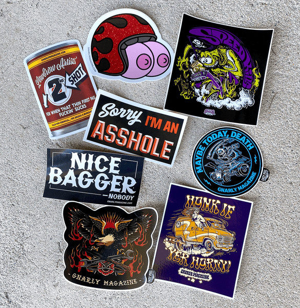 Image of Sticker Pack - Free Shipping