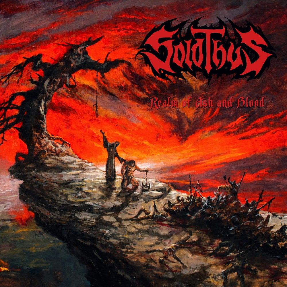 Image of Solothus - Realm Of Ash And Blood Cassette