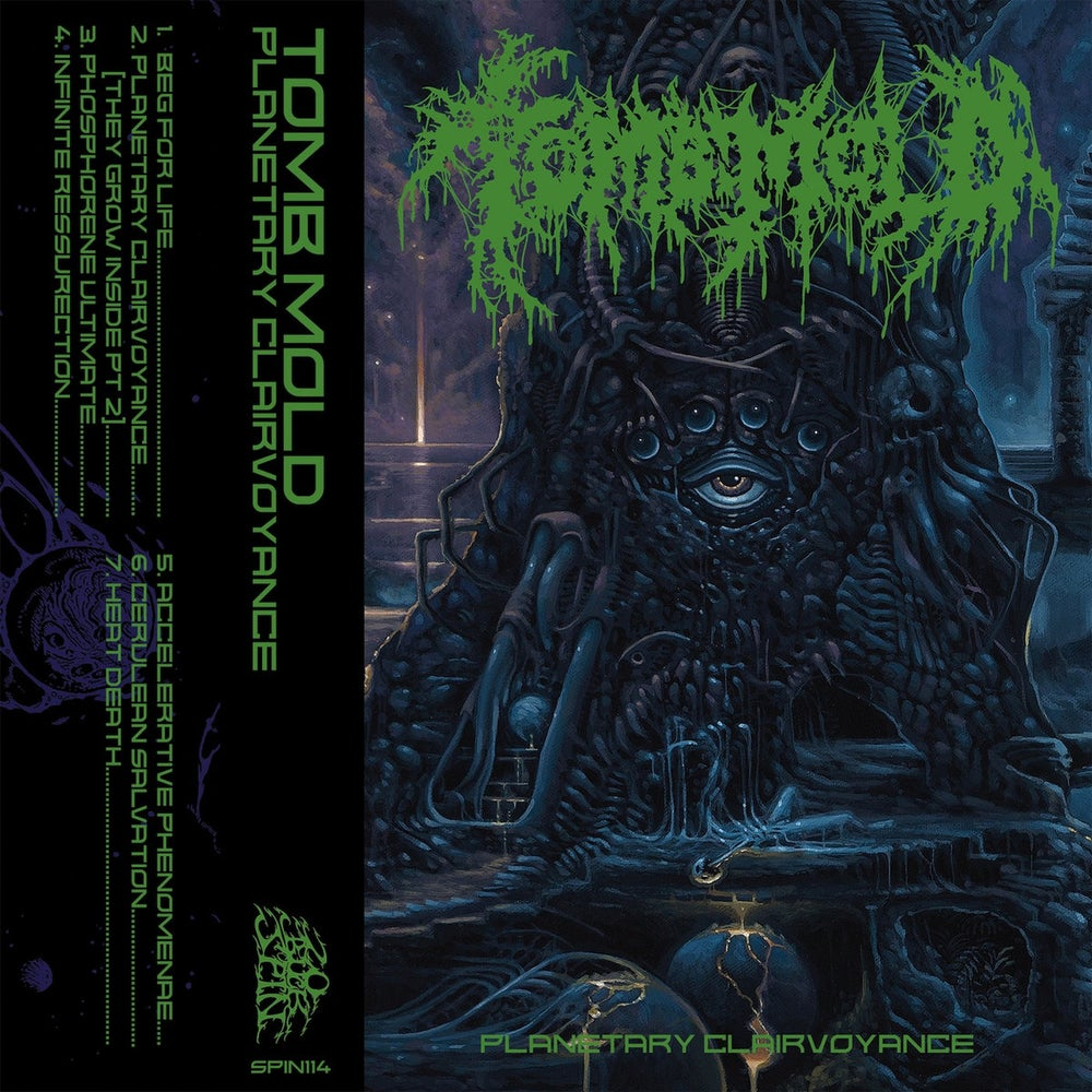 Image of Tomb Mold - Planetary Clairvoyance Cassette