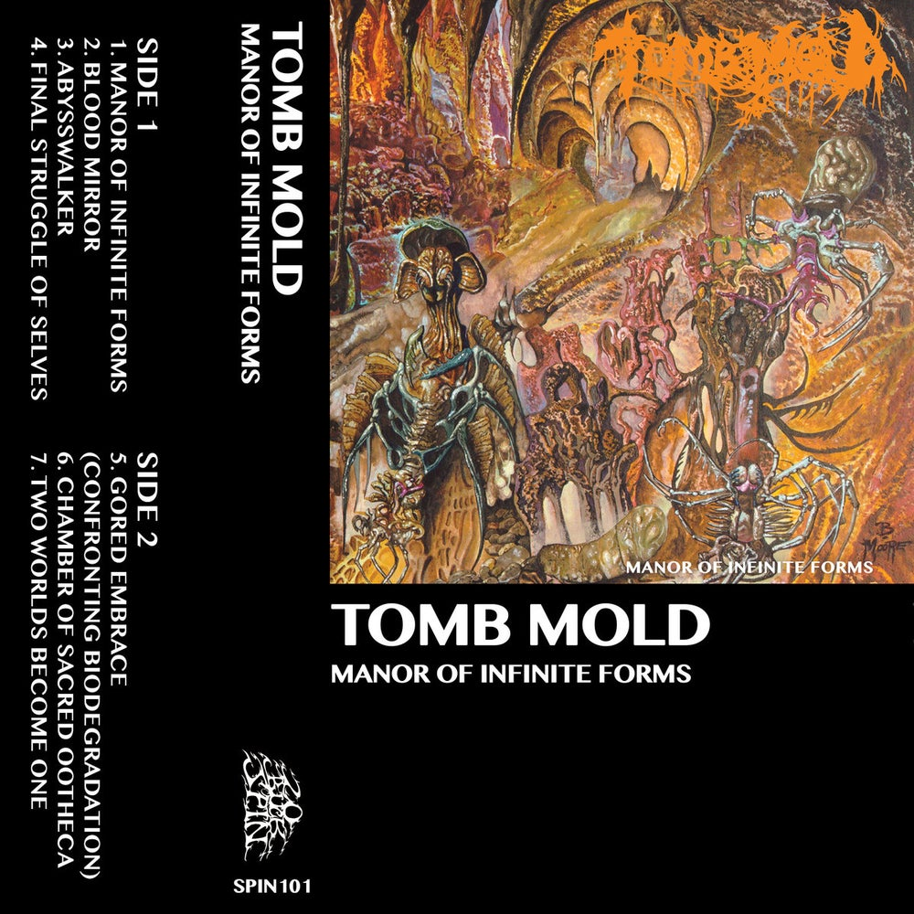 Image of Tomb Mold - Manor Of Infinite Forms Cassette