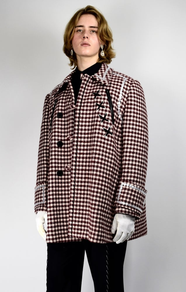 Image of AW21 - DECORATED WOOL COAT