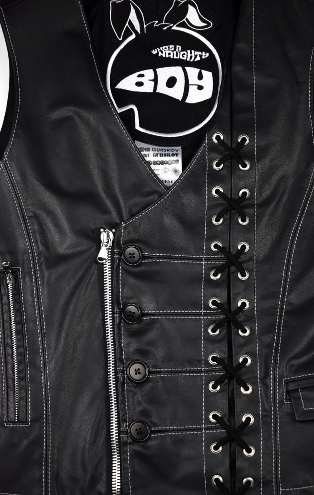 Image of AW21 - LEATHER VEST