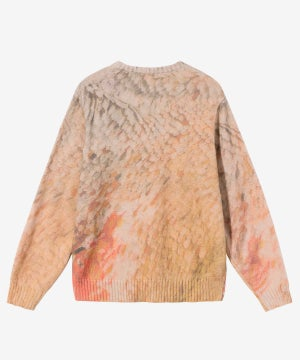 Image of STUSSY_WING PRINT SWEATER