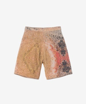 Image of STUSSY_WING PRINT KNIT SHORT