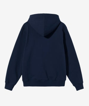 Image of STUSSY_SPORT EMBROIDERED HOODIE :::NAVY:::