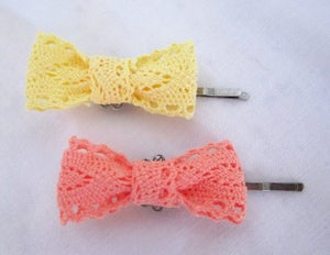 Image of Lacie Bow Hairpin Set