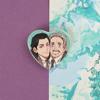 Loki Heart Buttons