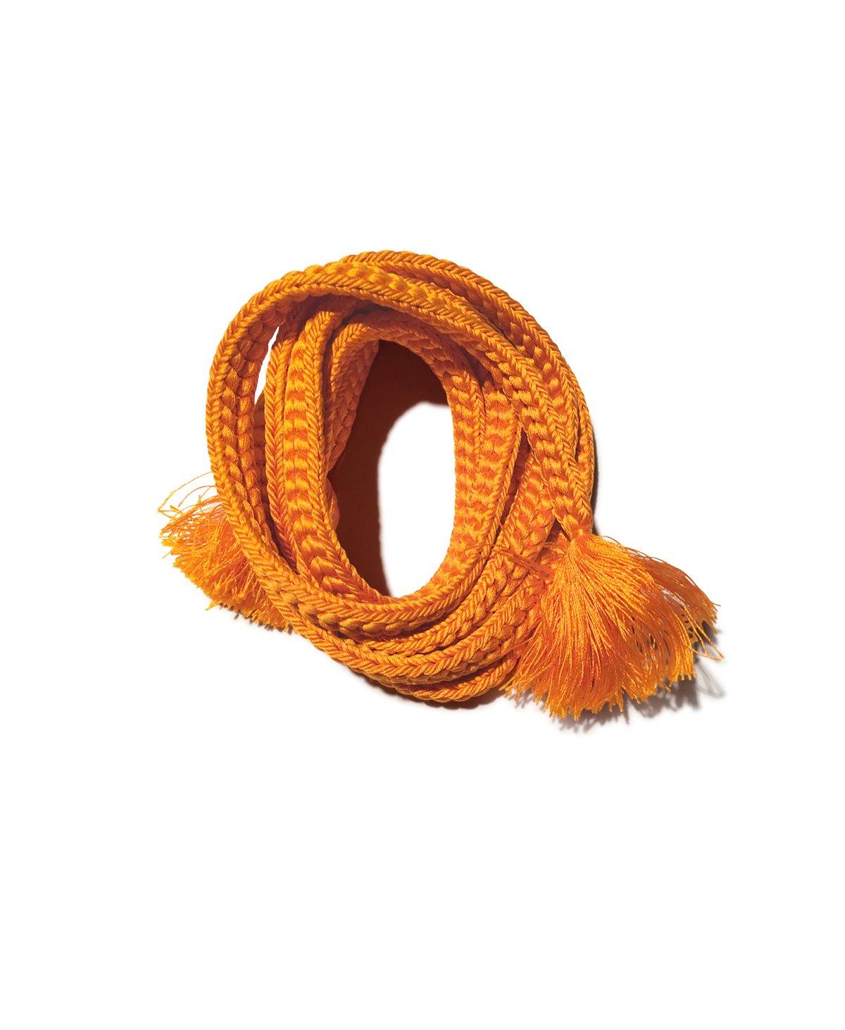 Image of Orange bælte af silke